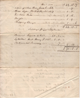 1769 Invoice re goods to Jamaica from Joseph Lee 2